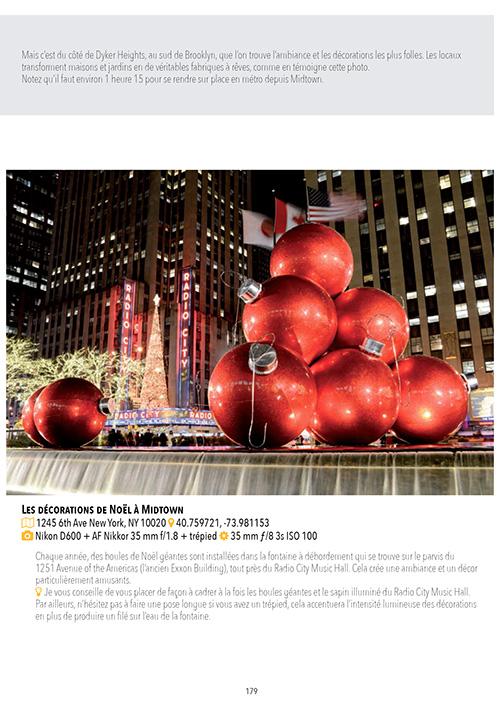 Décos de Noël à New York